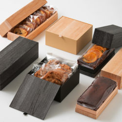 新商品のご紹介 木箱のような素敵な貼り箱